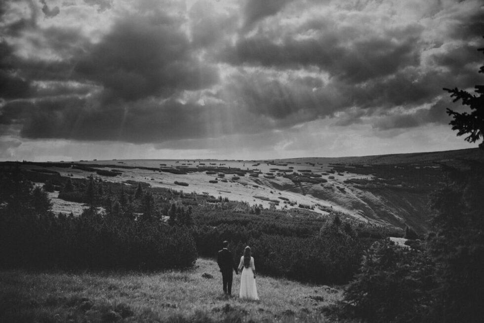 sesja poslubna w gorach