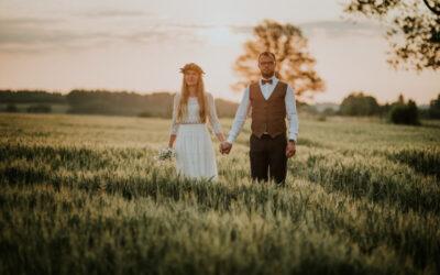 Ania i Michał – ślub na Pałukach i górskie wędrówki